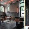 moderne Wandmalerei Augsburg, Wandgestaltung Augsburg, Wände patinieren, Farbkonzept für Lokal