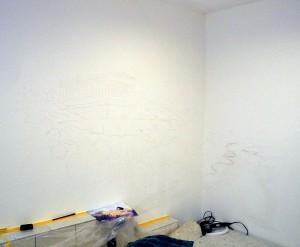 Anlage einer Wandmalerei