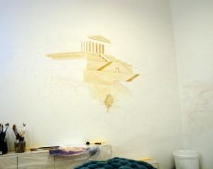 Wandmalerei: Erste Schritte