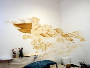 Anlage Wandmalerei