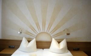 Wandbild Hotel